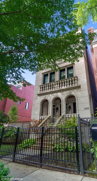 Real Estate Photography - 1460 W Byron St, Chicago, IL, 60613 - Exterior