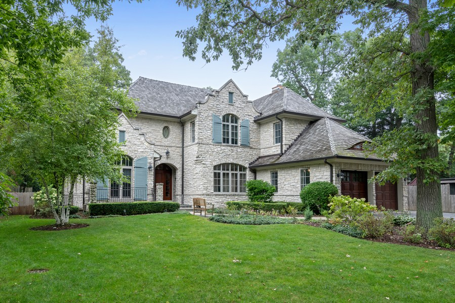 Real Estate Photography - 241 Harbor, Glencoe, IL, 60022 - Front View