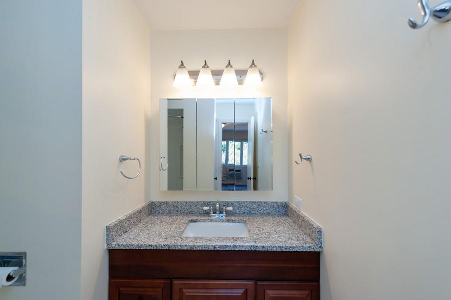 Real Estate Photography - 520 E Main St, Unit 2B, Barrington, IL, 60010 - Master Bathroom