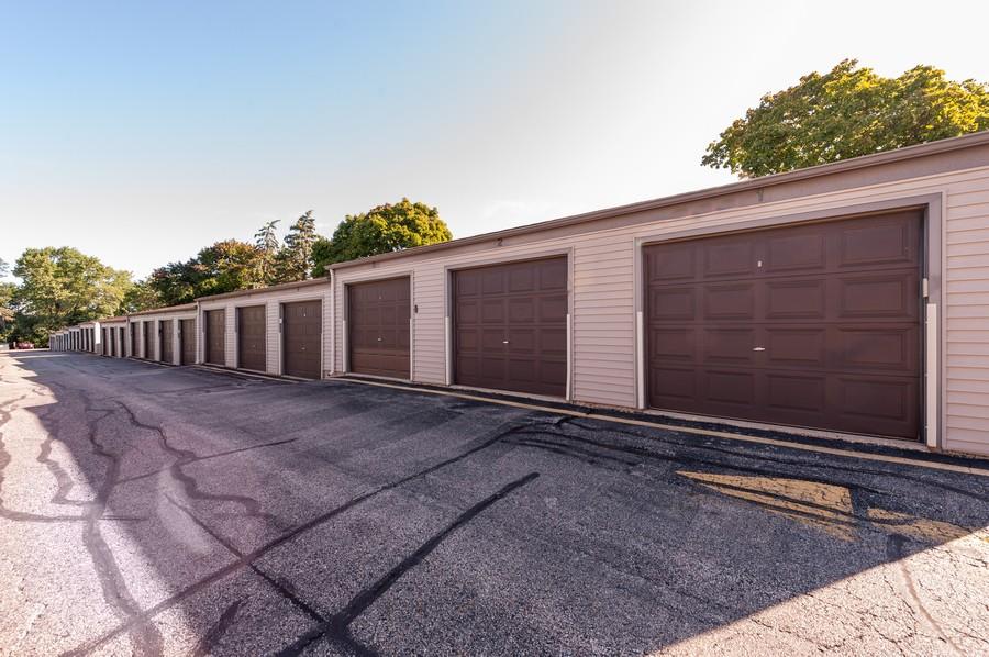 Real Estate Photography - 520 E Main St, Unit 2B, Barrington, IL, 60010 - Garage