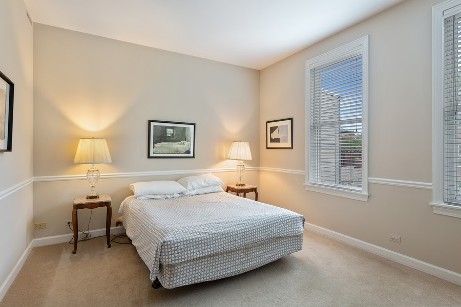 Real Estate Photography - 1255 W Webster, Chicago, IL, 60614 - Master Bedroom