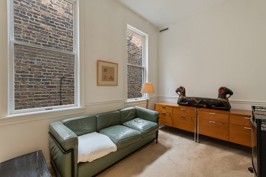 Real Estate Photography - 1255 W Webster, Chicago, IL, 60614 - 3rd Bedroom