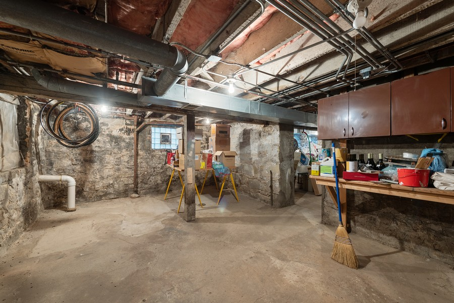 Real Estate Photography - 1255 W Webster, Chicago, IL, 60614 - Lower Level