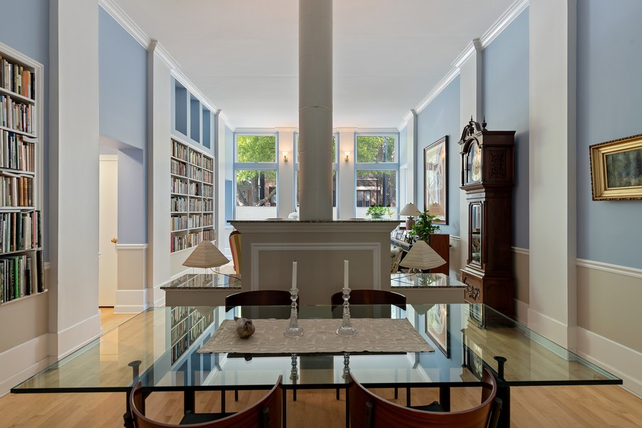 Real Estate Photography - 1255 W Webster, Chicago, IL, 60614 - Dining Room