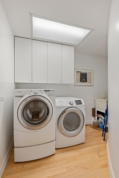 Real Estate Photography - 1255 W Webster, Chicago, IL, 60614 - Laundry Room