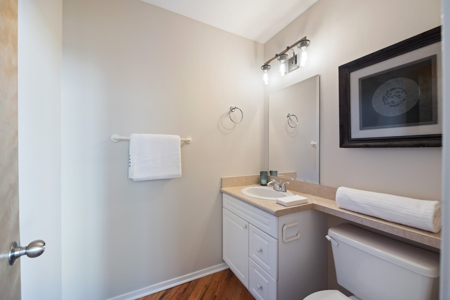 Real Estate Photography - 616 W Fulton, Chicago, IL, 60661 - Half Bath