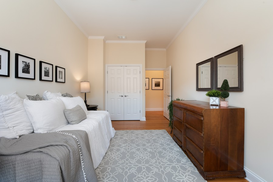 Real Estate Photography - 3721 N Elston Ave, Unit 4S, Chicago, IL, 60618 - 2nd Bedroom