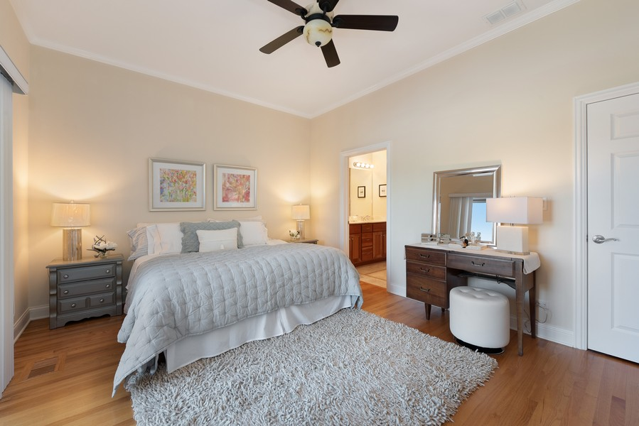 Real Estate Photography - 3721 N Elston Ave, Unit 4S, Chicago, IL, 60618 - Master Bedroom