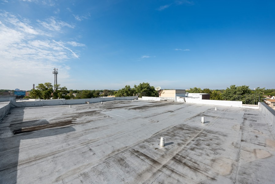 Real Estate Photography - 3721 N Elston Ave, Unit 4S, Chicago, IL, 60618 - Roof Deck