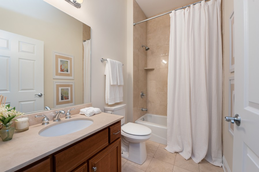 Real Estate Photography - 3721 N Elston Ave, Unit 4S, Chicago, IL, 60618 - 2nd Bathroom