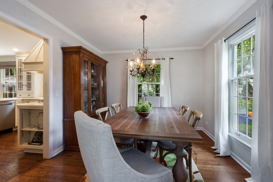Real Estate Photography - 415 Westwood Drive, Barrington, IL, 60010 - Dining Room