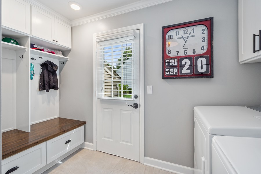Real Estate Photography - 415 Westwood Drive, Barrington, IL, 60010 - Laundry/Mudroom