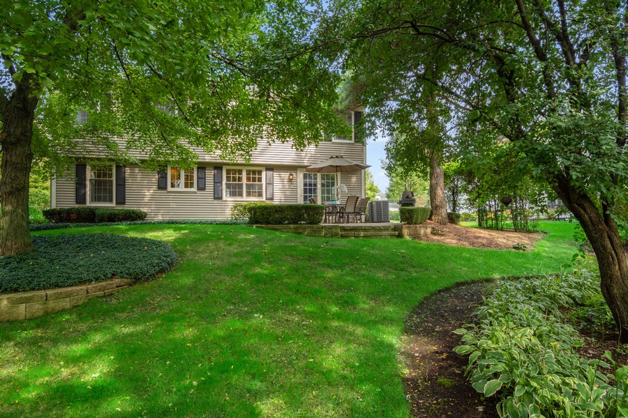 Real Estate Photography - 415 Westwood Drive, Barrington, IL, 60010 - Rear View