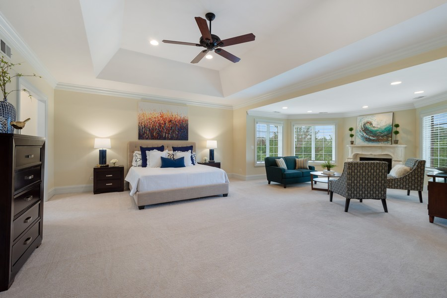 Real Estate Photography - 22106 N Greenmeadow Dr, Kildeer, IL, 60047 - Master Bedroom