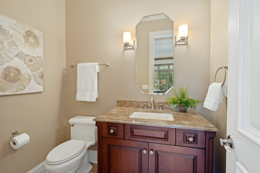Real Estate Photography - 22106 N Greenmeadow Dr, Kildeer, IL, 60047 - Powder Room 2