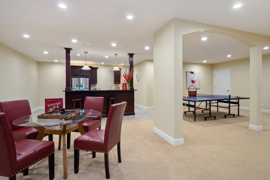Real Estate Photography - 22106 N Greenmeadow Dr, Kildeer, IL, 60047 - 2nd Kitchen, Eating Area & Game Room