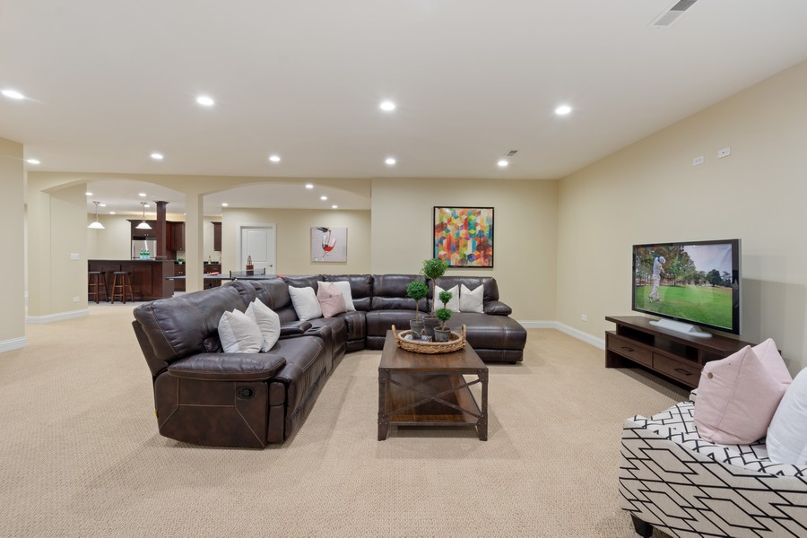 Real Estate Photography - 22106 N Greenmeadow Dr, Kildeer, IL, 60047 - Recreation Room