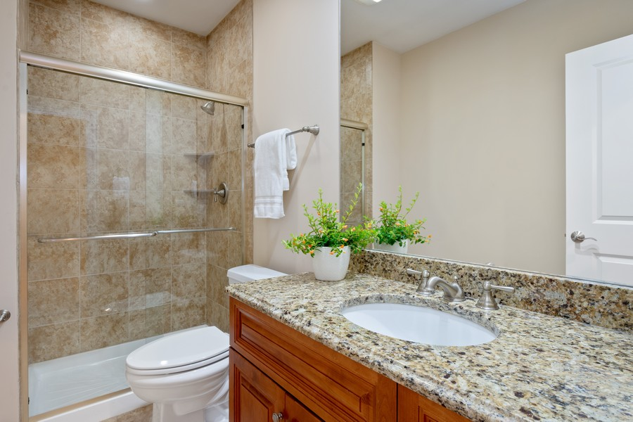 Real Estate Photography - 22106 N Greenmeadow Dr, Kildeer, IL, 60047 - Basement Bathroom
