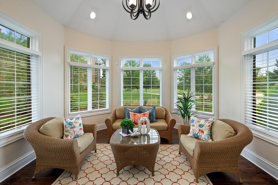 Real Estate Photography - 22106 N Greenmeadow Dr, Kildeer, IL, 60047 - Sun Room