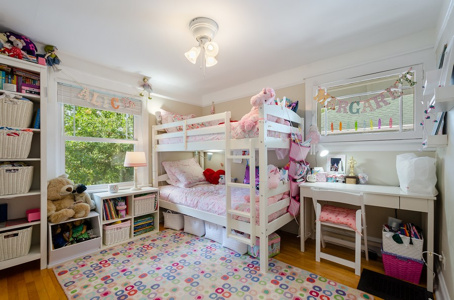 Real Estate Photography - 1903 Livingston, Evanston, IL, 60202 - 2nd Bedroom