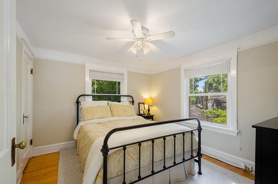 Real Estate Photography - 1903 Livingston, Evanston, IL, 60202 - Master Bedroom