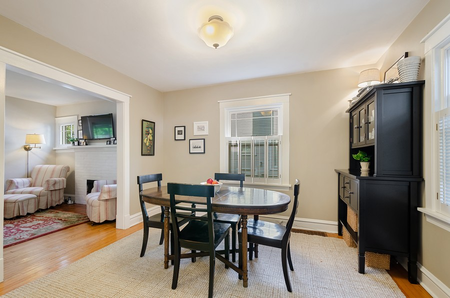 Real Estate Photography - 1903 Livingston, Evanston, IL, 60202 - Dining Room