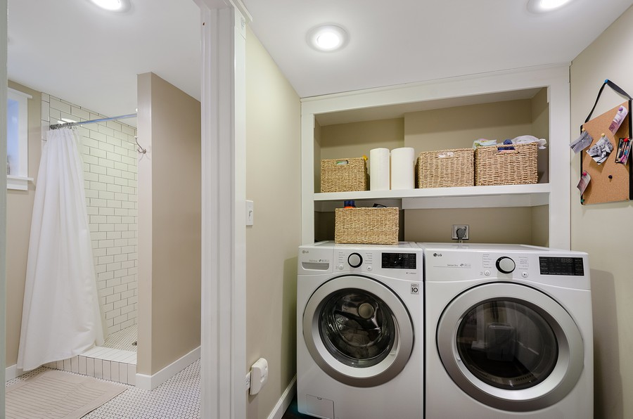 Real Estate Photography - 1903 Livingston, Evanston, IL, 60202 - Laundry Room