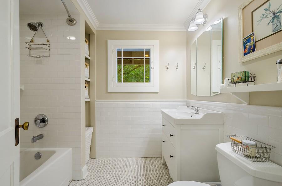 Real Estate Photography - 1903 Livingston, Evanston, IL, 60202 - Bathroom