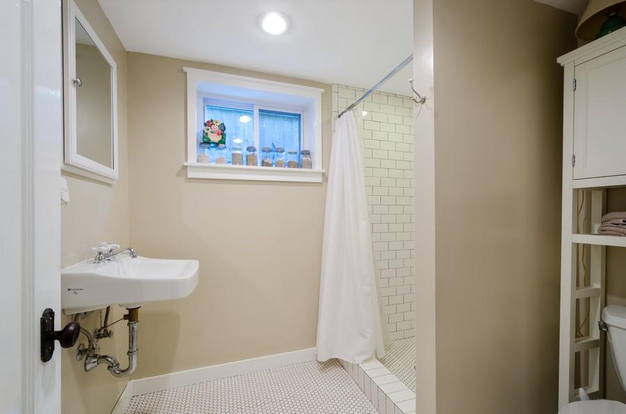 Real Estate Photography - 1903 Livingston, Evanston, IL, 60202 - 2nd Bathroom