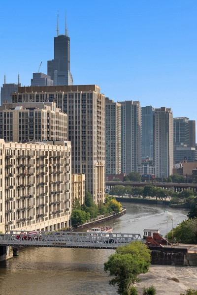 Real Estate Photography - 900 N Kingsbury St, Unit 820, Chicago, IL, 60610 - View