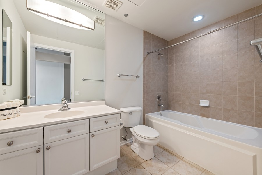 Real Estate Photography - 900 N Kingsbury St, Unit 820, Chicago, IL, 60610 - Bathroom