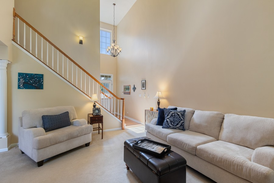 Real Estate Photography - 863 March St, Lake Zurich, IL, 60047 - Foyer/Living Room