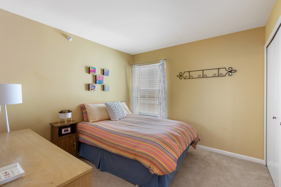 Real Estate Photography - 863 March St, Lake Zurich, IL, 60047 - 2nd Bedroom
