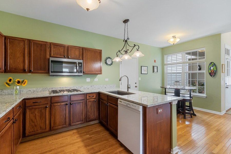 Real Estate Photography - 863 March St, Lake Zurich, IL, 60047 - Kitchen