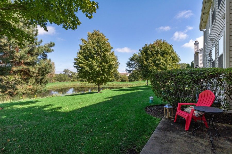 Real Estate Photography - 863 March St, Lake Zurich, IL, 60047 - Back Yard
