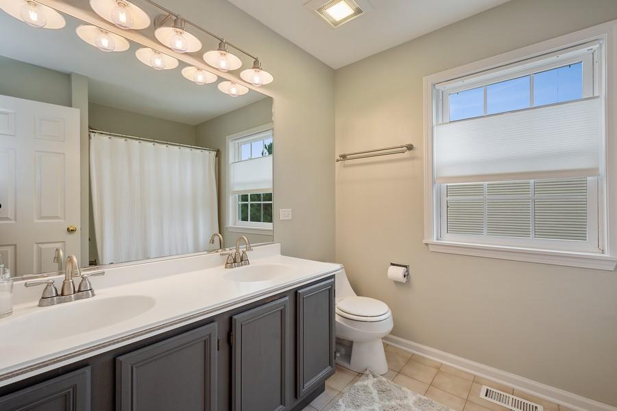 Real Estate Photography - 9162 Primrose Ln, Fox River Grove, IL, 60021 - Master Bathroom