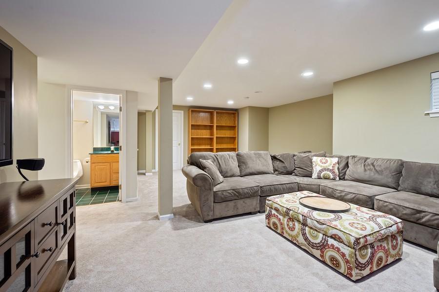 Real Estate Photography - 9162 Primrose Ln, Fox River Grove, IL, 60021 - Basement