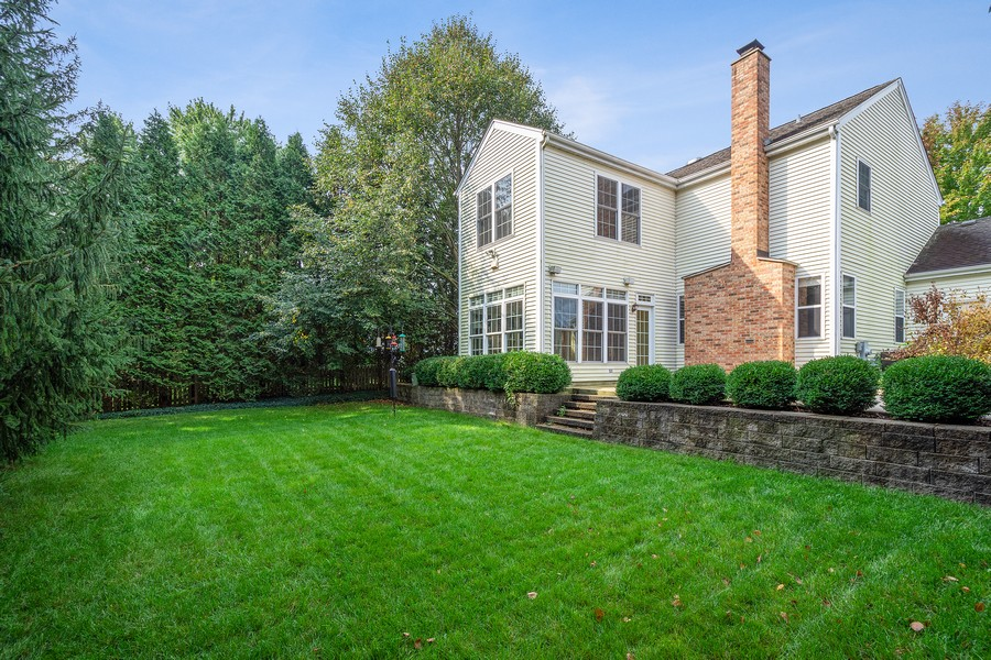 Real Estate Photography - 9162 Primrose Ln, Fox River Grove, IL, 60021 - Back Yard