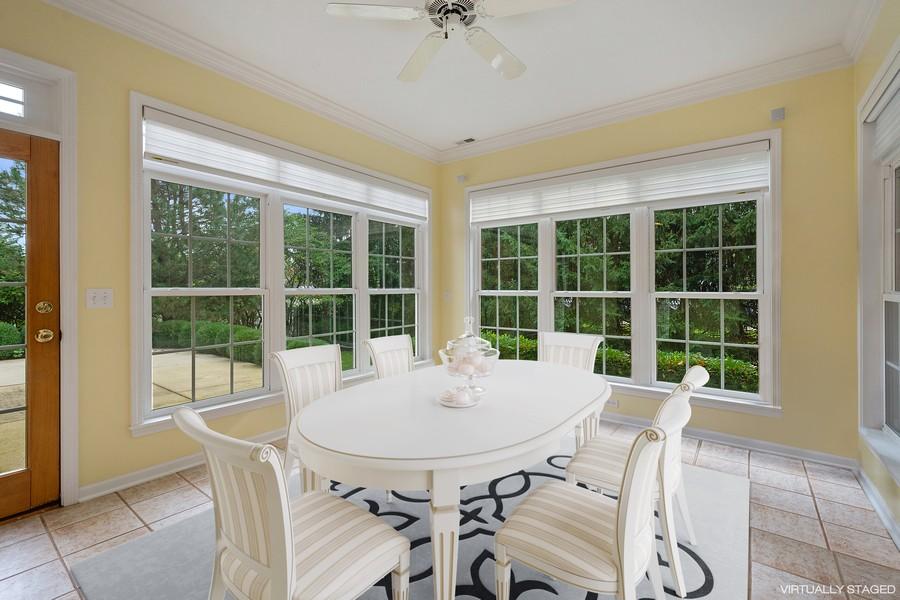 Real Estate Photography - 9162 Primrose Ln, Fox River Grove, IL, 60021 - Breakfast Area