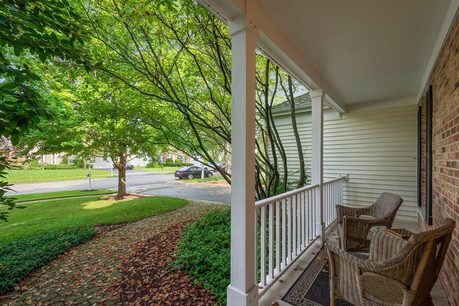 Real Estate Photography - 9162 Primrose Ln, Fox River Grove, IL, 60021 - Porch