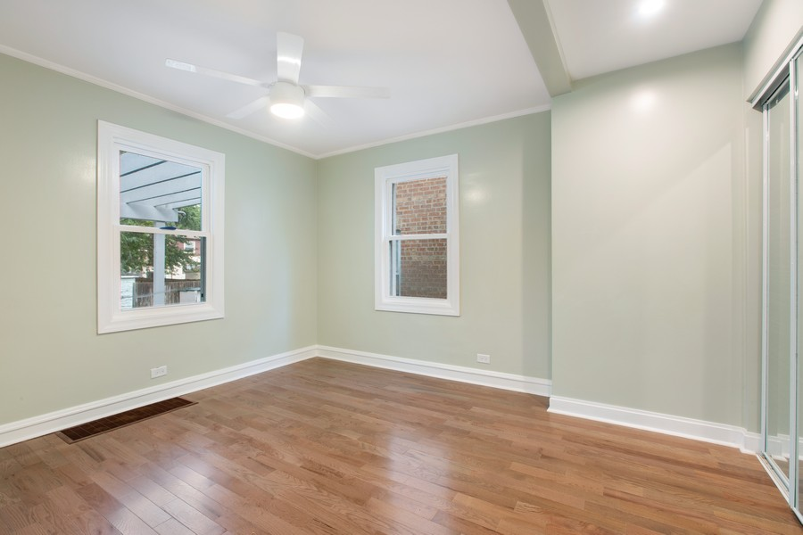 Real Estate Photography - 10324 S SAWYER AVENUE, CHICAGO, IL, 60655 - Master Bedroom