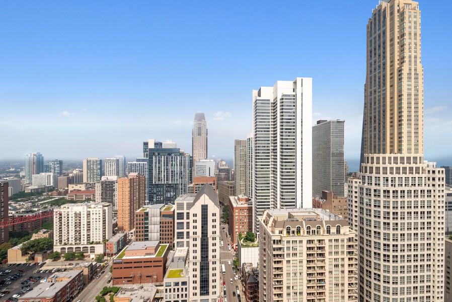 Real Estate Photography - 25 E Superior St, Unit 3605, Chicago, IL, 60611 - View
