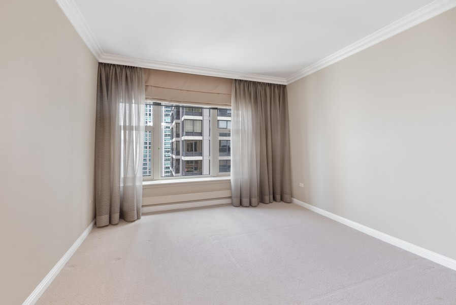 Real Estate Photography - 25 E Superior St, Unit 3605, Chicago, IL, 60611 - 2nd Bedroom