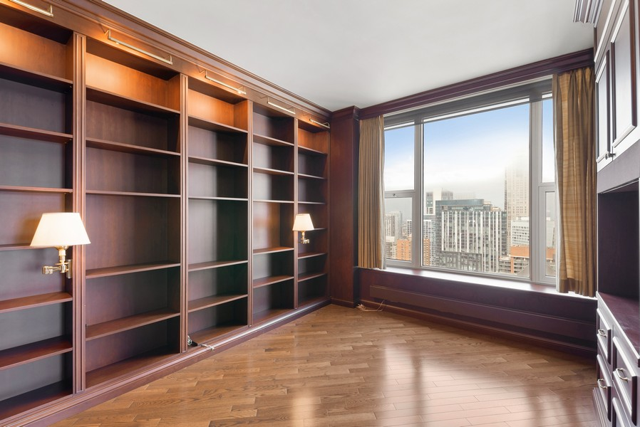 Real Estate Photography - 25 E Superior St, Unit 3605, Chicago, IL, 60611 - 3rd Bedroom