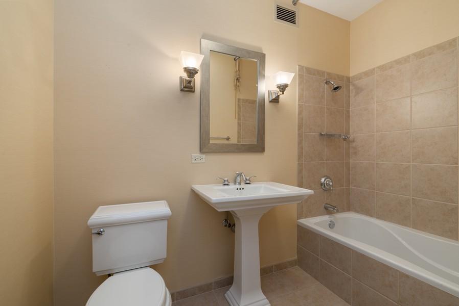 Real Estate Photography - 25 E Superior St, Unit 3605, Chicago, IL, 60611 - 2nd Bathroom