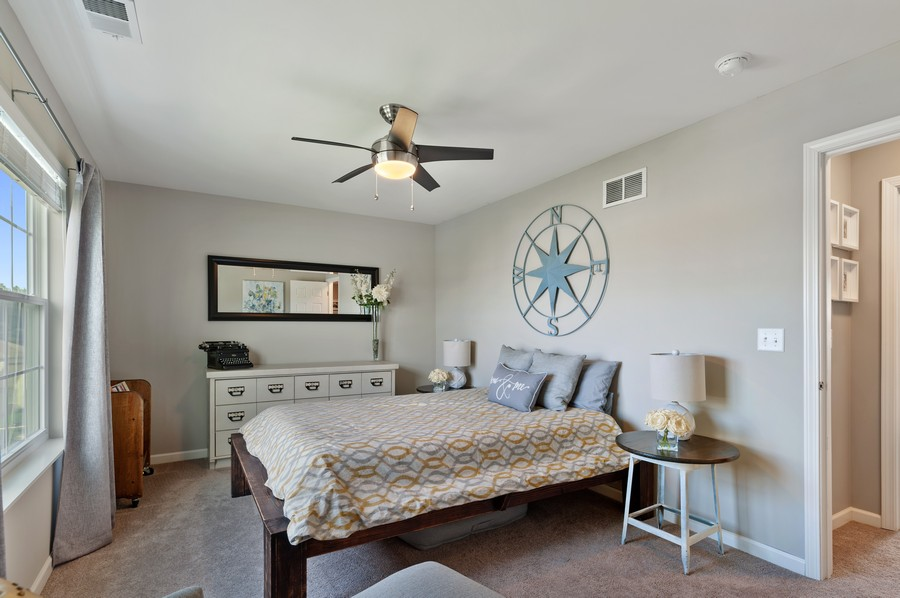 Real Estate Photography - 48 S Cornerstone, Volo, IL, 60020 - 2nd Bedroom