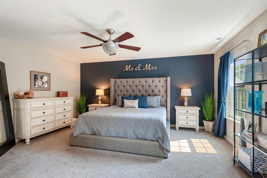 Real Estate Photography - 48 S Cornerstone, Volo, IL, 60020 - Master Bedroom