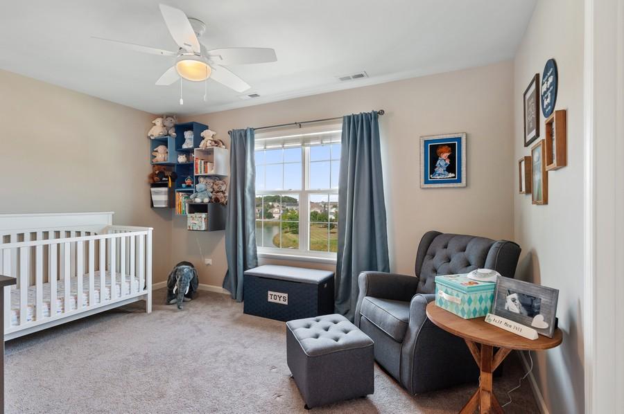 Real Estate Photography - 48 S Cornerstone, Volo, IL, 60020 - Bedroom