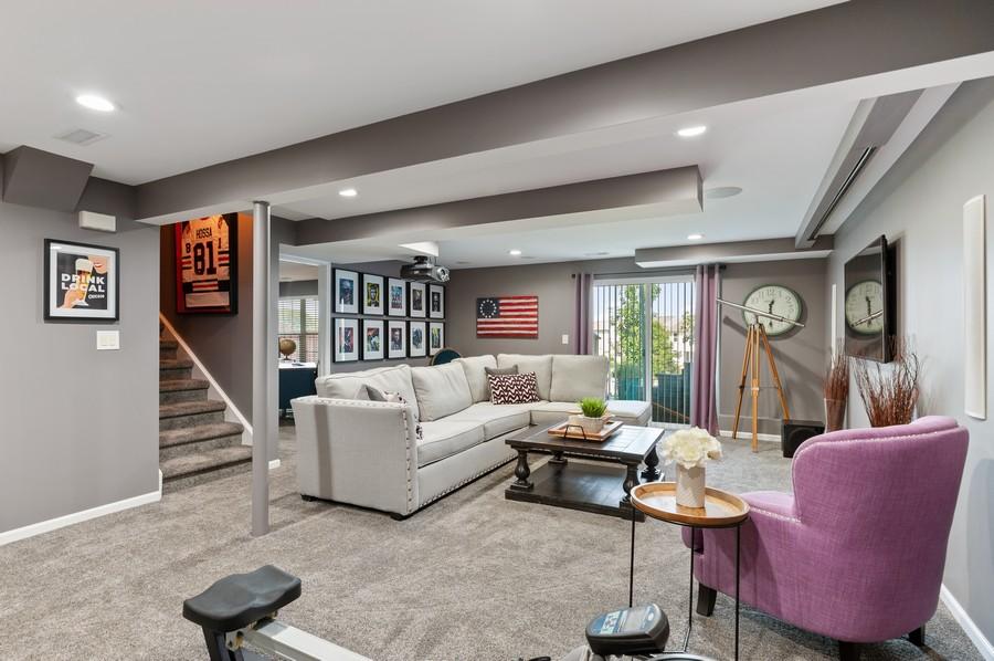 Real Estate Photography - 48 S Cornerstone, Volo, IL, 60020 - Recreational Room