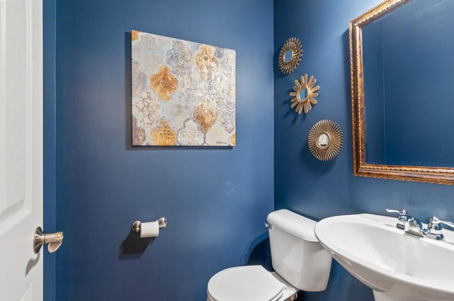Real Estate Photography - 48 S Cornerstone, Volo, IL, 60020 - Powder Room
